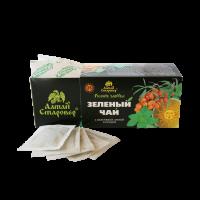 Зеленый чай С облепихой, мятой и перцем 25 ф/п по 1,5 г (Старовер)