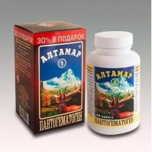 Пантогематоген Алтамар-1 180 капсул по 0 25 гр