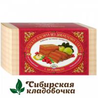 Белёвская пастила с брусникой без сахара (БПМ) 180 г