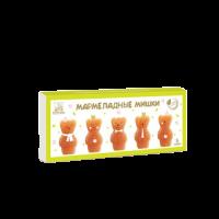 Мармелад натуральный яблочный Мишки Коломчаночка 155 г