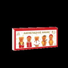 Мармелад натуральный яблочный Мишки Сувенирный Коломчаночка 155 г