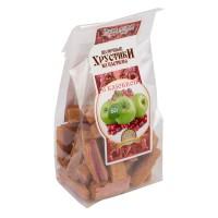 Хрустики яблочные с клюквой 80 г