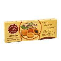 Натуральный мармелад с абрикосом без сахара 140 гр