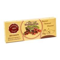 Натуральный мармелад с брусникой без сахара 140 гр
