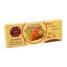 Натуральный мармелад с клубникой без сахара 140 гр