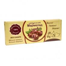 Натуральный мармелад с клюквой без сахара 140 гр
