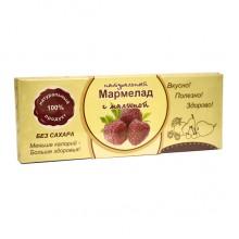Натуральный мармелад с малиной без сахара 140 гр