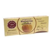 Натуральный мармелад с тыквой без сахара 140 гр