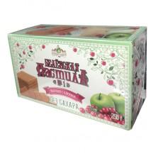 Белёвская пастила яблочная без сахара с клюквой 250 г