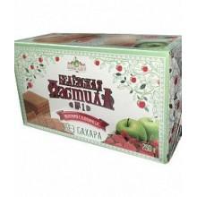Белёвская пастила яблочная без сахара с клубникой 250 г