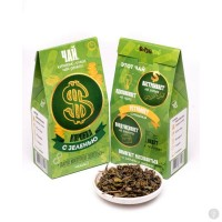 Чай Коробка с зеленью