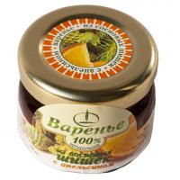 Варенье из сосновых шишек с апельсиновыми цукатами, 30 г (Емельяновская Биофабрика)