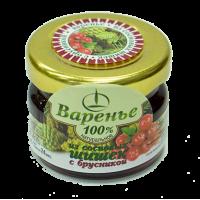Варенье из сосновых шишек с брусникой, 30 г (Емельяновская Биофабрика)