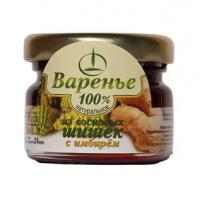 Варенье из сосновых шишек с цукатами имбиря, 30 г (Емельяновская Биофабрика)