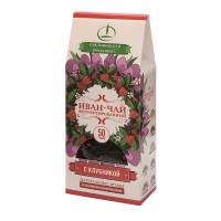 Иван-чай ферментированный с клубникой 50 г (Емельяновская Биофабрика)
