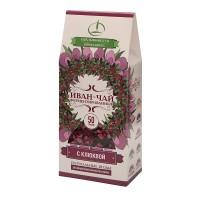 Иван-чай ферментированный с клюквой 50 г (Емельяновская Биофабрика)