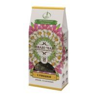 Иван-чай ферментированный с ромашкой пачка 50 г (Емельяновская Биофабрика)