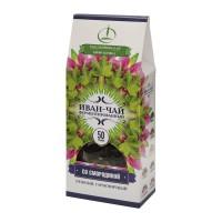 Иван-чай ферментированный с листьями смородины пачка 50 г (Емельяновская Биофабрика)