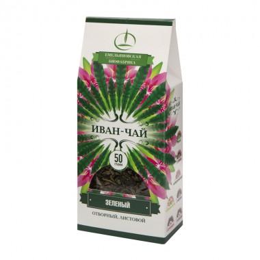 Иван-чай зеленый листовой пачка 50 г (Емельяновская Биофабрика)