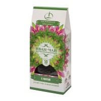 Иван-чай ферментированный с мятой пачка 50 г (Емельяновская Биофабрика)