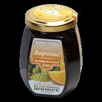 Варенье из сосновых шишек с апельсиновыми цукатами 250 г (Емельяновская Биофабрика)