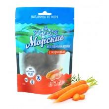 Морские чипсы 90 г из ламинарии с морковью