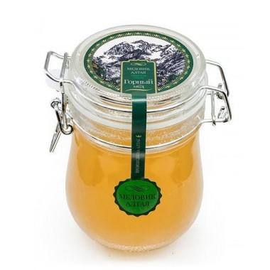Мёд алтайский  Горный, 600 гр с бугельным замком