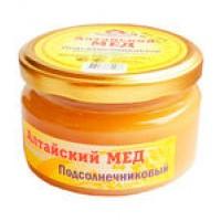 Мёд подсолнечниковый (Алтай) 250 гр