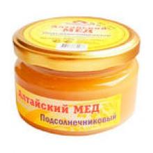 Мёд алтайский подсолнечниковый 250 г