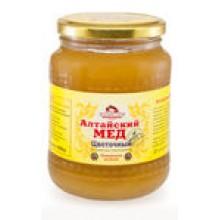 Мёд алтайский цветочный 900 гр