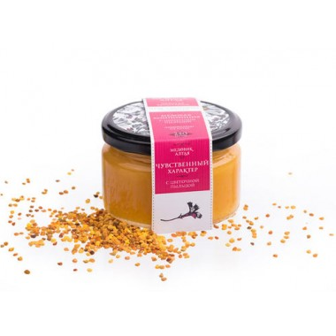 Мёд алтайский С пыльцой 250 гр
