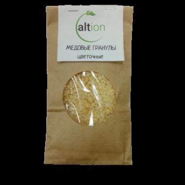 Медовые гранулы цветочные 100 гр