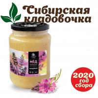 Мёд эспарцетовый (Алтай) 900 гр  2020 год сбора