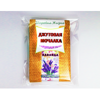 Джутовая мочалка с натуральным мылом Деготь (Мелмур)