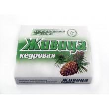 Жевательная резинка на живице кедровой 50 гр