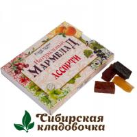 Мармелад натуральный Ассорти без сахара (Русские традиции) 160 гр