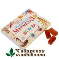 Мармелад натуральный Детский яблочный без сахара (Русские традиции) 160 гр
