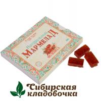 Мармелад натуральный С кусочками облепихи без сахара (Русские традиции) 160 гр