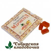 Мармелад натуральный Морковь-имбирь-лимон без сахара (Русские традиции) 160 гр