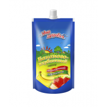Нектар бананово-клубничный с пектином 200 мл пакет с дозатором