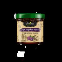 Ядро ореха кедрового в черничном сиропе банка 140 гр