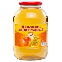 Нектар яблочно-виноградный 2л
