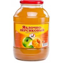 Нектар яблочно-персиковый 2л