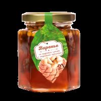 Варенье из кедровой шишки с кедровыми орешками 240 г (Сам бы ел)