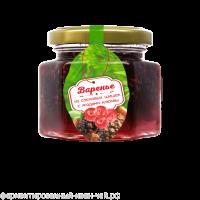 Варенье из сосновой шишки с ягодами клюквы БЕЗ САХАРА 150 г (Сам бы ел)