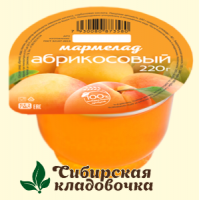 Мармелад Абрикосовый 220 гр. (Сам бы ел)
