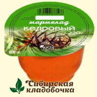 Мармелад Кедровый 220 гр. (Сам бы ел)
