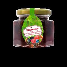 Варенье из сосновой шишки с лесными ягодами 150 г (Сам бы ел)