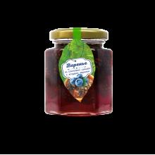 Варенье из сосновой шишки с ягодами черники 240 г (Сам бы ел)