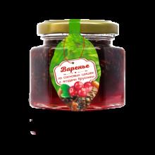 Варенье из сосновой шишки с ягодами брусники 150 г (Сам бы ел)
